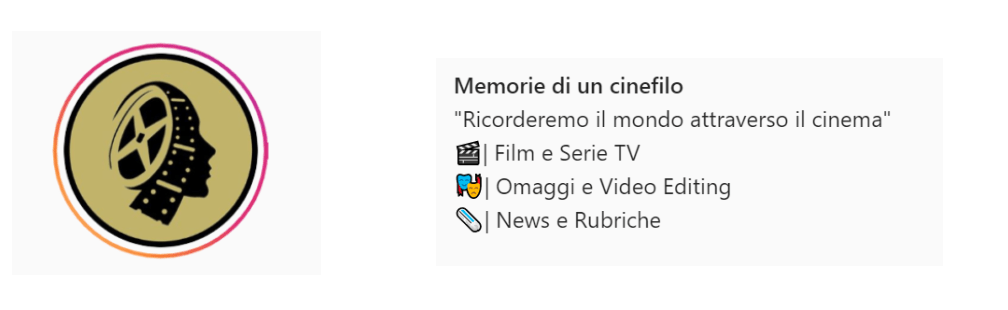 memorie di un cinefilo