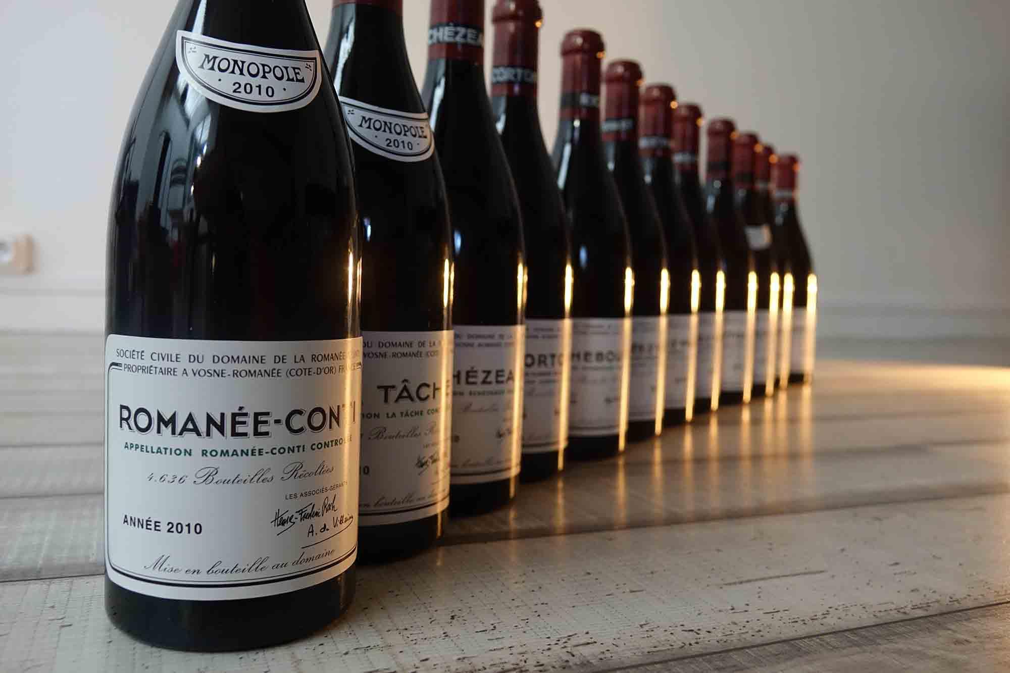 I 5 vini più costosi del Mondo