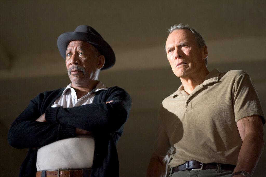 Morgan Freeman e Clint Eastwood