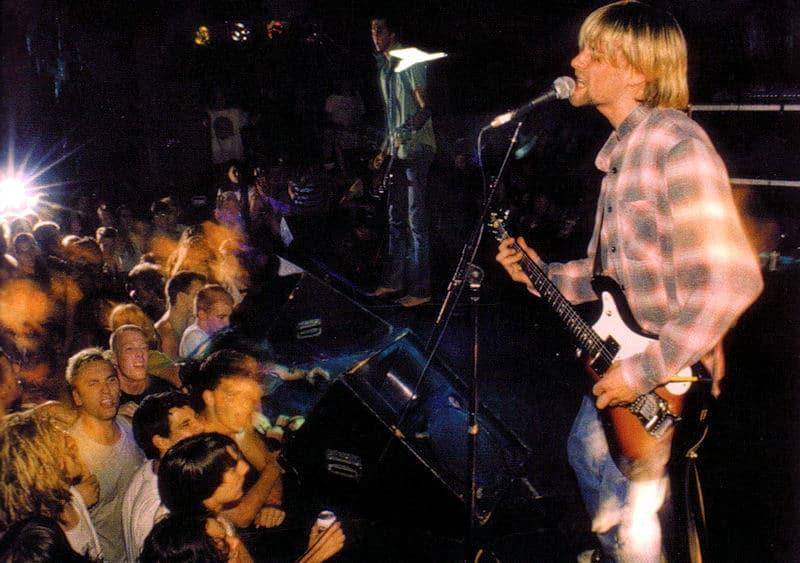 Kurt Cobain e la sua mitica camicia di flanella