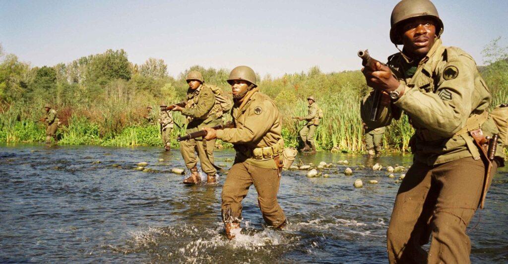 La divisione Buffalo nel fiume Serchio.