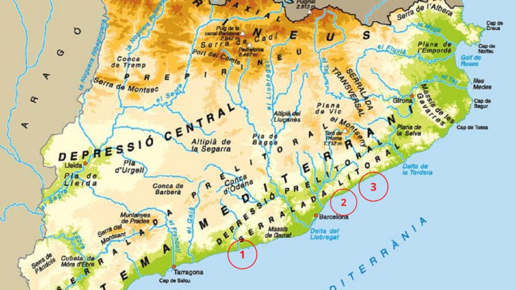 La Mappa dei 3 siti
