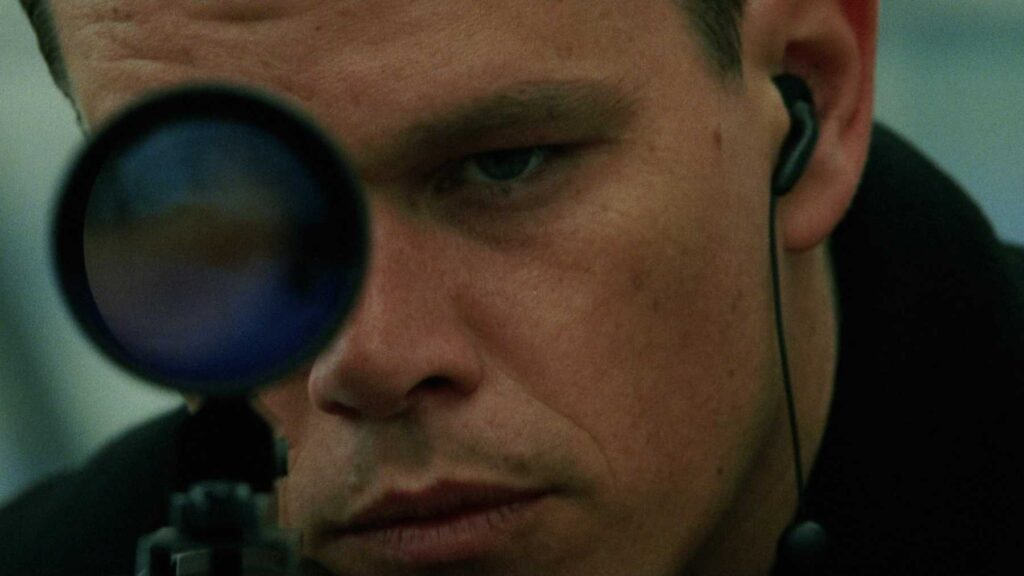 Matt Damon aka Jason Bourne